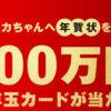 [416名様当選]エコリカちゃんへ年賀状を送って100万円が当たる!