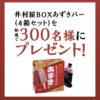[300名当選]井村屋BOXあずきバー4箱セットが当たる!謎解きクイズキャンペーン
