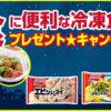 [20名様当選]味の素  夜食に便利な冷凍食品プレゼント★キャンペーン!