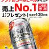 [100名様当選]アサヒドライゼロ 1ケースプレゼントキャンペーン!